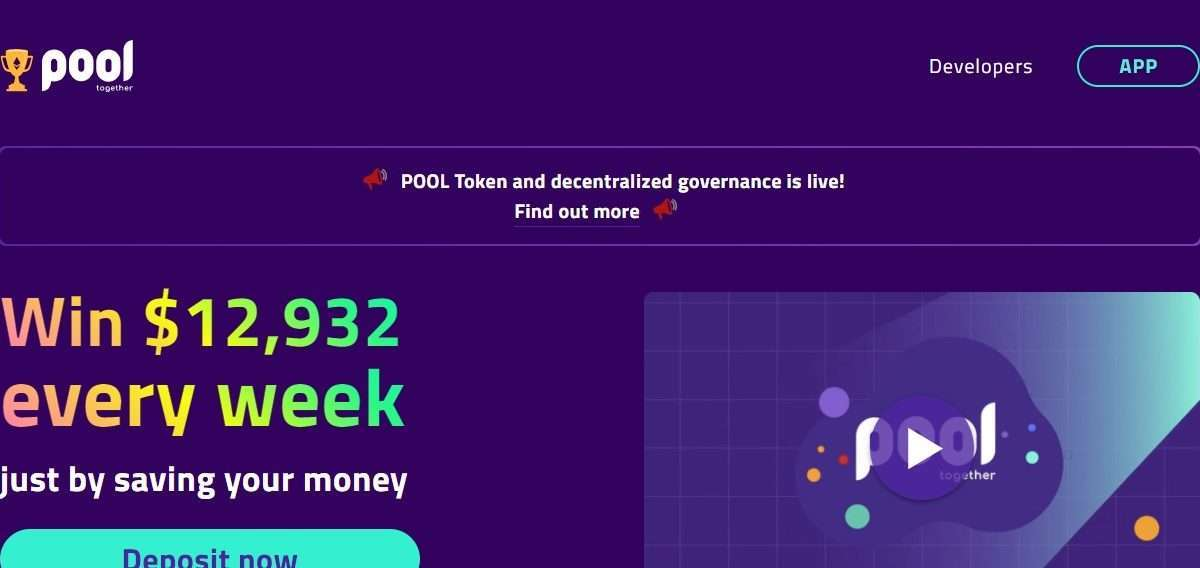 PoolTogether Coin Review: Guide About PoolTogether Coin