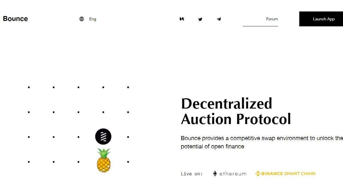Bounce Airdrop Review: Decentralized Auction Protocol