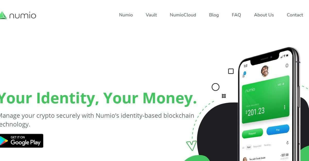 Numio Airdrop Review: Your Identity, Your Money.