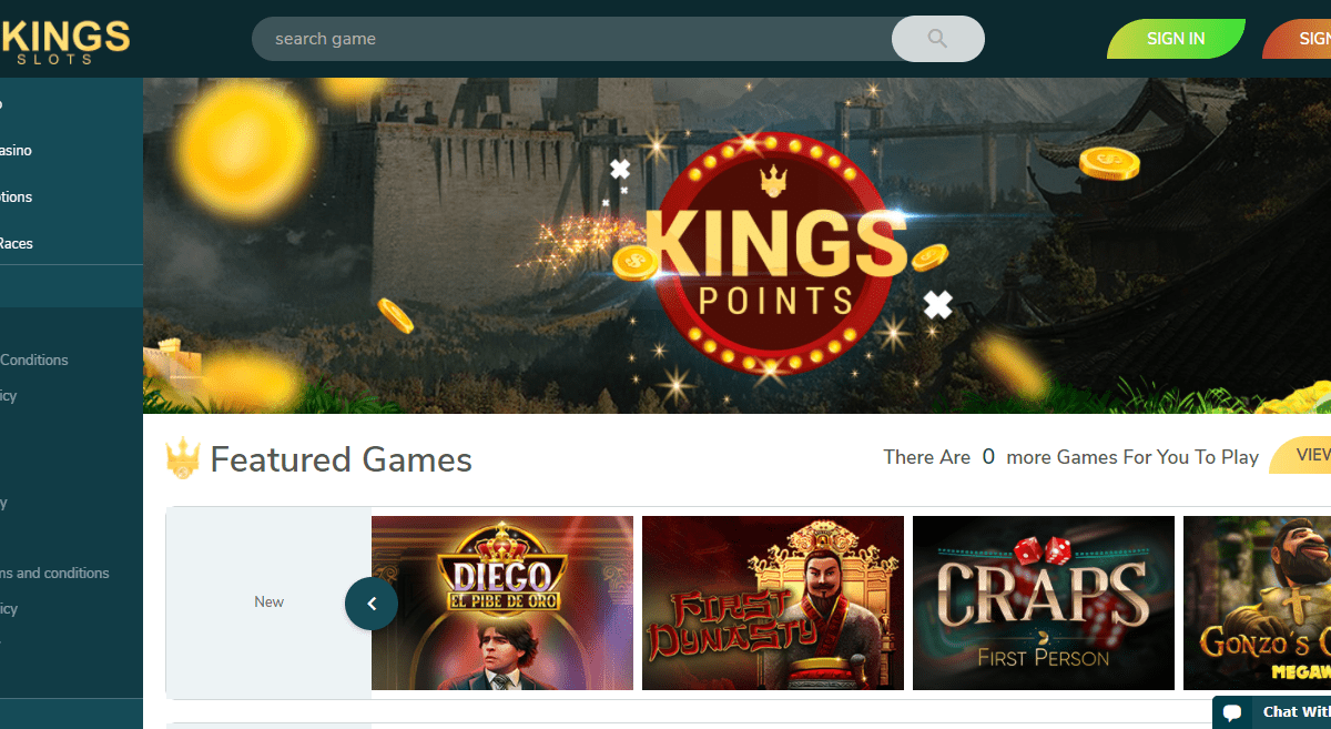 4Kingslots Casino Review : 500 Free Spins Every Week