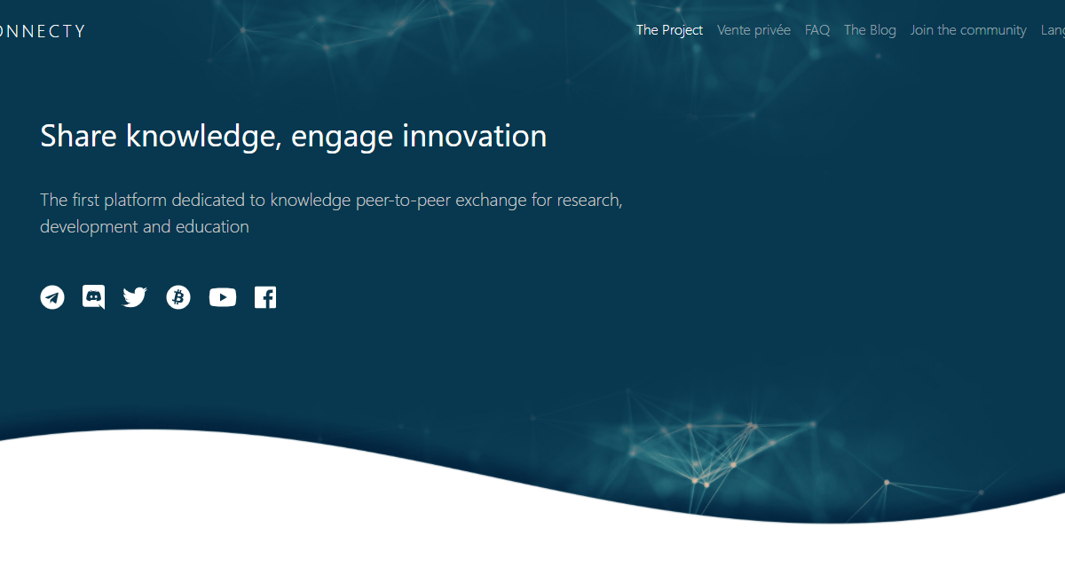 Connecty ICO Review : Point to Transform Knowledge Into Innovation
