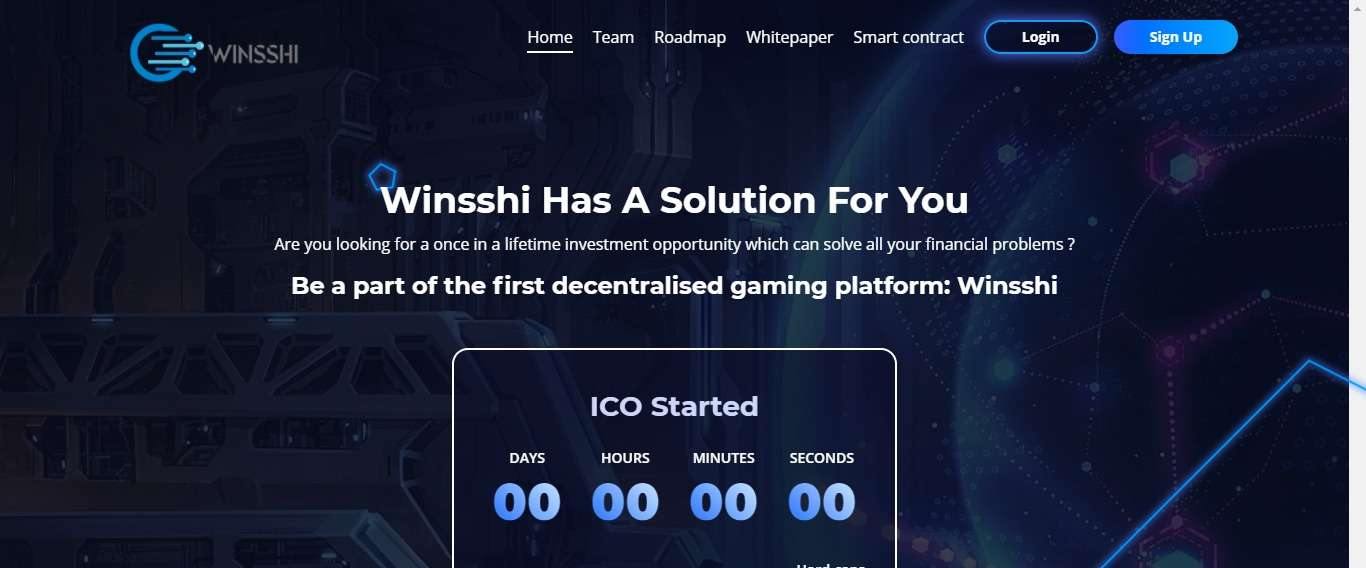 Winsshi Ico Review : Be a Part of the First Decentralised Gaming Platform