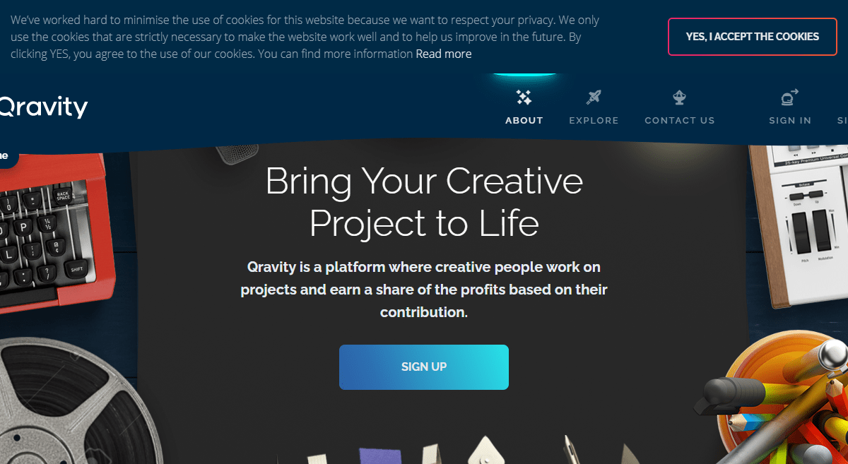 Qravity ICO Review : Bring Your Creative Project to Life