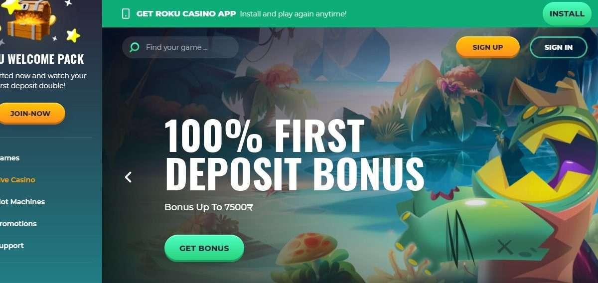 Roku Casino Review : 50% Friday Reloaded Bonus