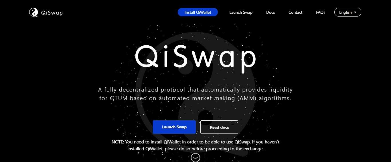 QiSwap Airdrop Review: A Fully Decentralized Protocol
