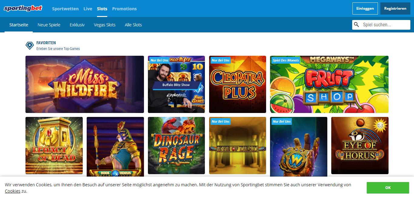Sportingbet Casino Review : Erleben Sie Unsere Top Games