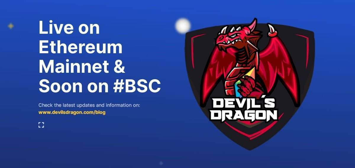 Devils Dragon Ico Review : Live on Ethereum Mainnet & Soon on #BSC