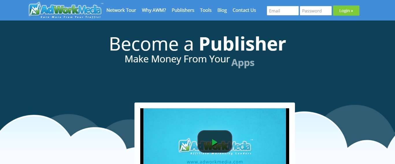 AdWork Media Affiliates Network Review : Make Money From Your Domains