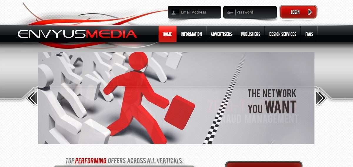Envyus Media Affiliates Network Review: World Class Support