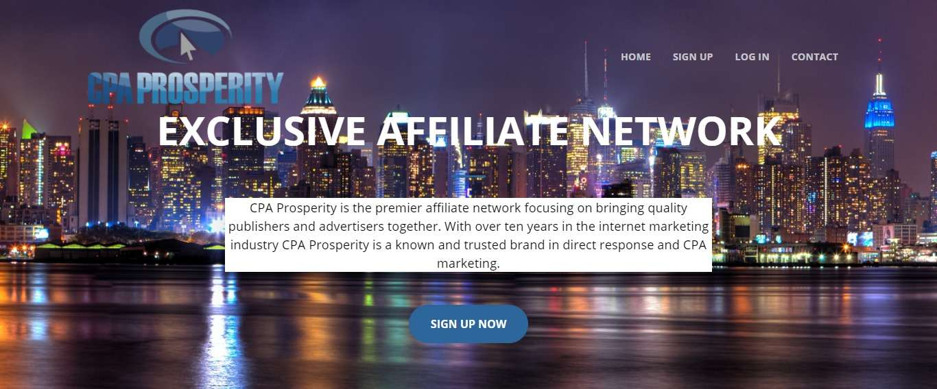 Cpaprosperity.com Affiliate Network Review: The Commission Rate is 2%