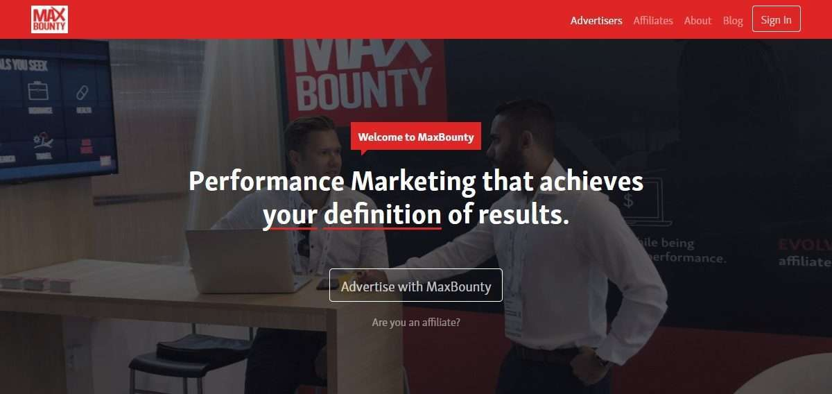 MaxBounty Affiliates Network Review : Start Earning Money