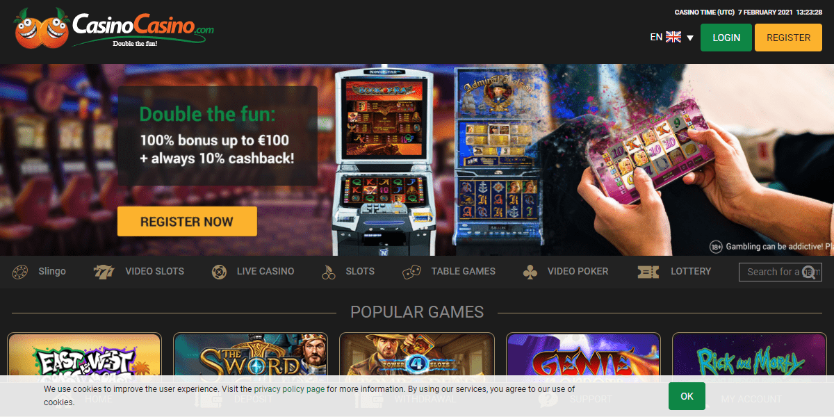 CasinoCasino Review : Best Casino Game