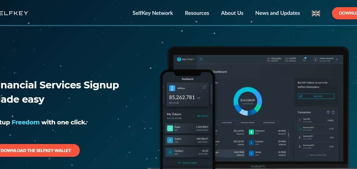 SelfKey Airdrop Review: Financial Services Signup Made easy