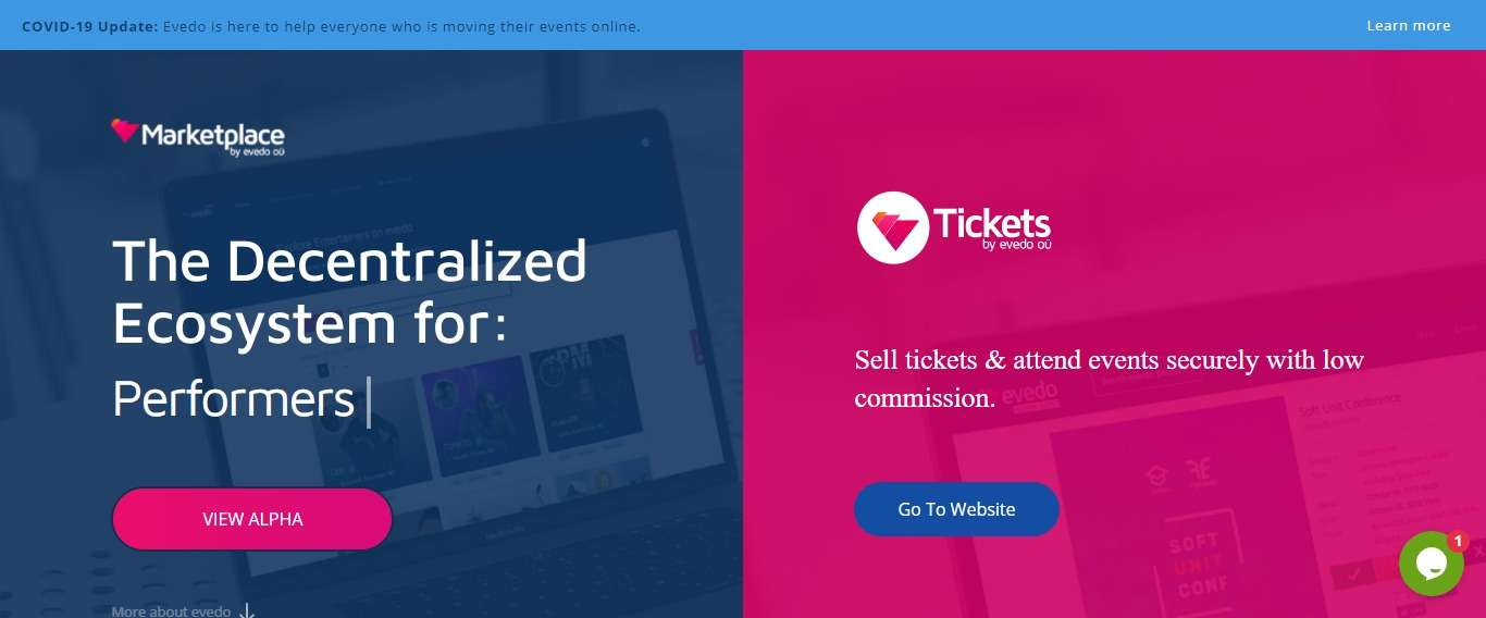 Evedo Ico Review: Sell Tickets & Attend Events Securely with low Commission.