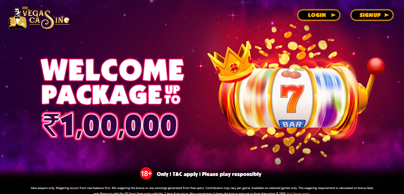 MrVegas Casino Review : Only T&C Apply Please Play Responsibly