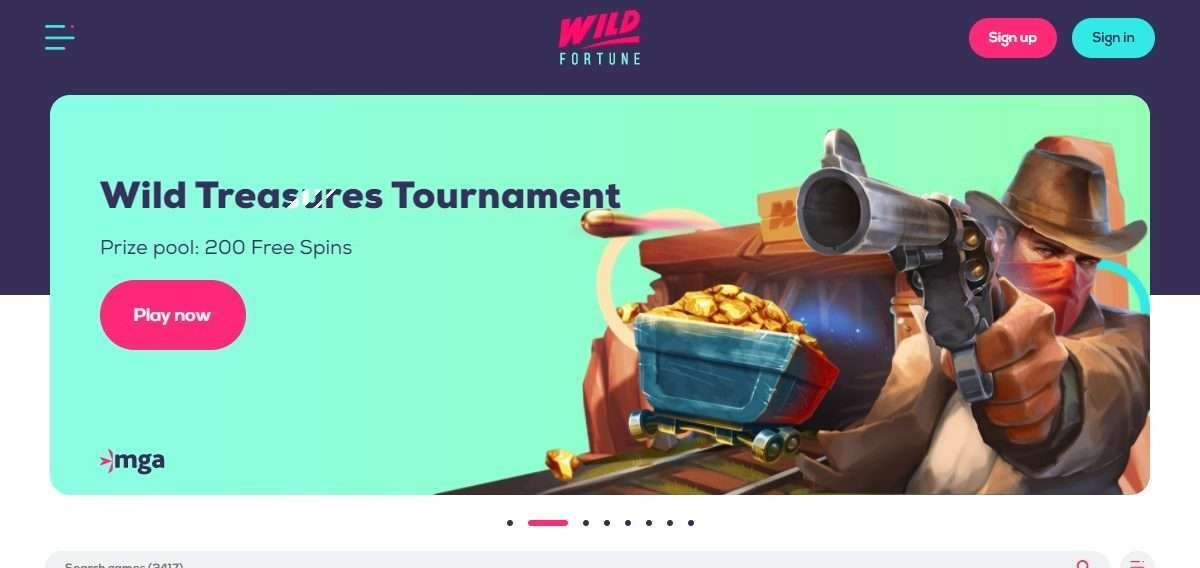 Wildfortune.com Casino Review: Earn Up To 100% Up To 100 Bonus