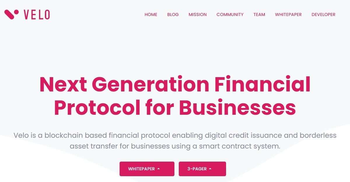Velo.org Airdrop Review: Next Generation Financial Protocol for Businesses