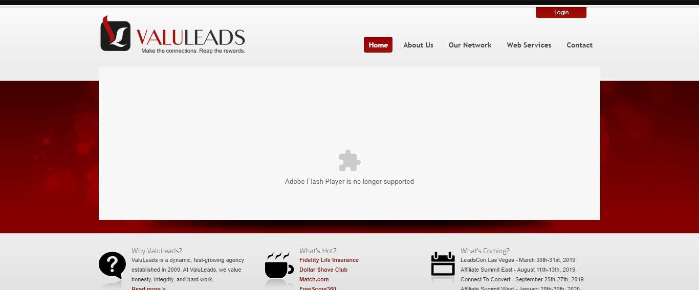 Valuleads.com Affiliate Network Review: Weekly Payments Available