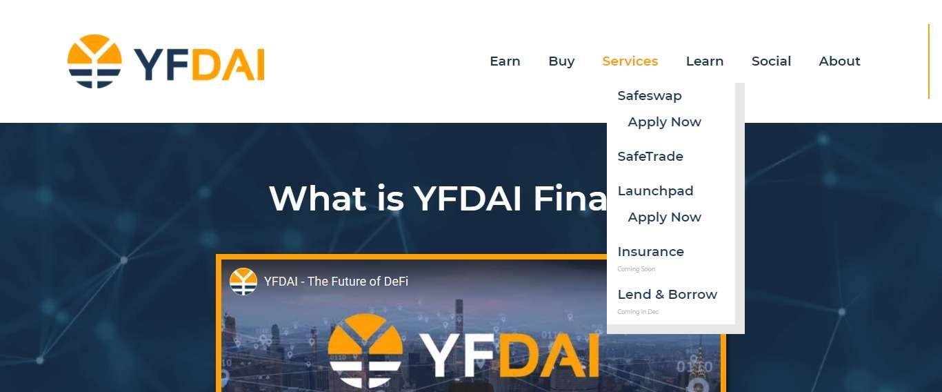 Yfdai.finance Airdrop Review: Receive a Bonus of 5% of Their total SSGT