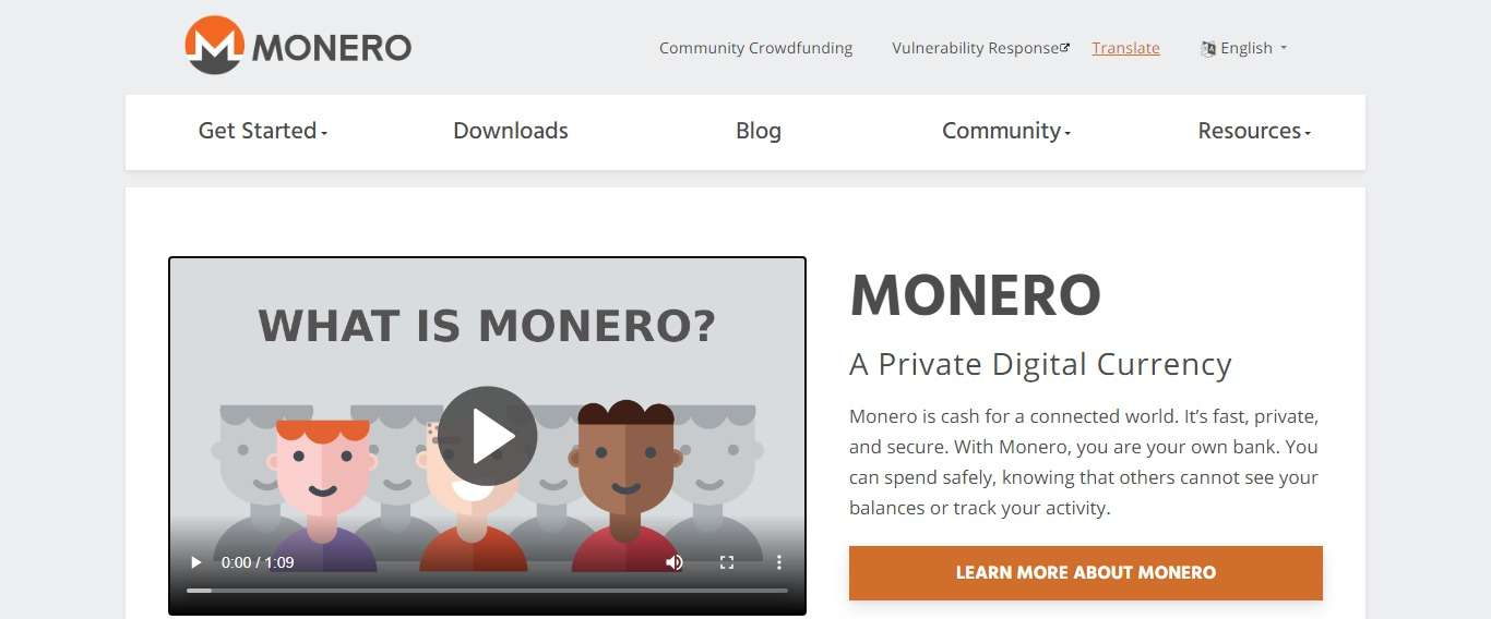 Getmonero.org Coin Review: Guide About Getmonero.org
