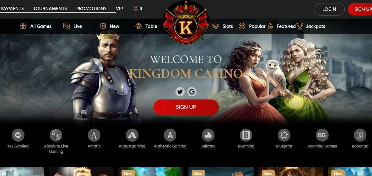 Kingdomcasino.com Casino Review: 100 Free Spins on your Special day.