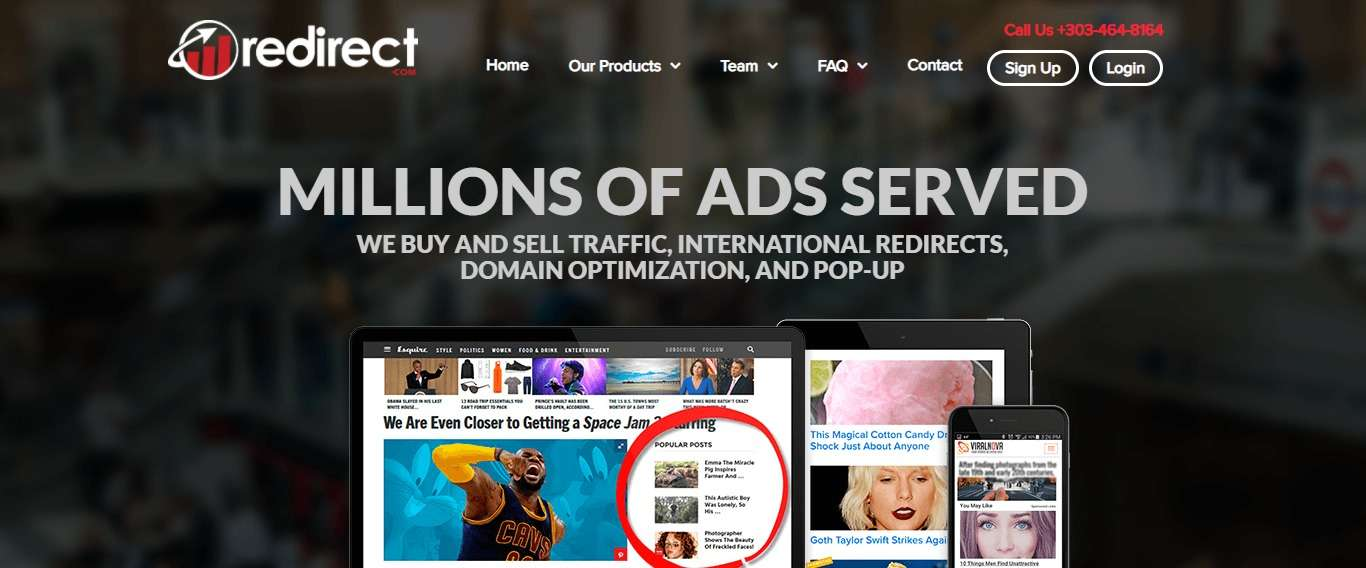 Redirect.com Affiliate Network Review: 100% Customized to the Publisher's