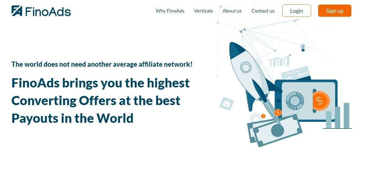 Finoads.com Affiliate Network Review: Highest Converting Offers at the best Payouts in the World