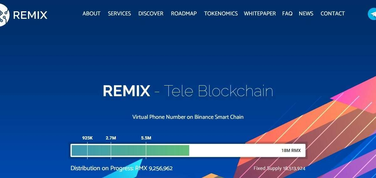Remix.capital Airdrop Review: Virtual Phone Number on Binance Smart Chain
