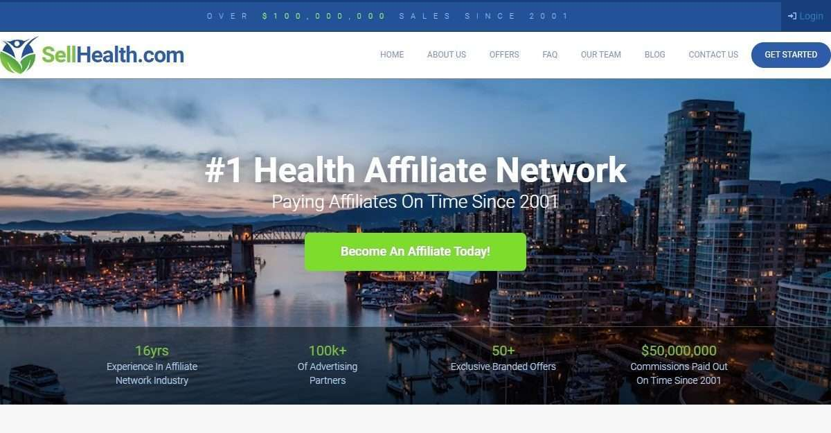 Sellhealth.com Affiliate Network Review: Get Earn 5% referral Commisiosn