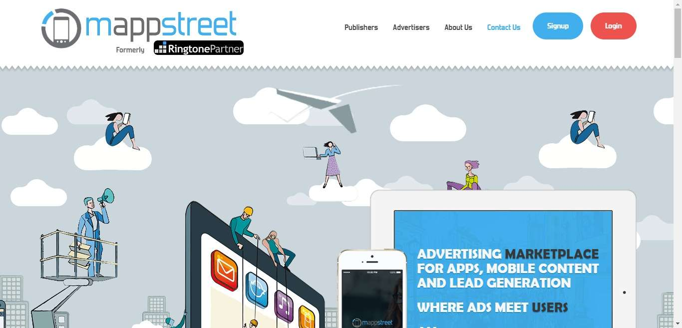 Mappstreet.com Affiliate Network Review : Comprehensive Interface Based on in- House Superior Technology