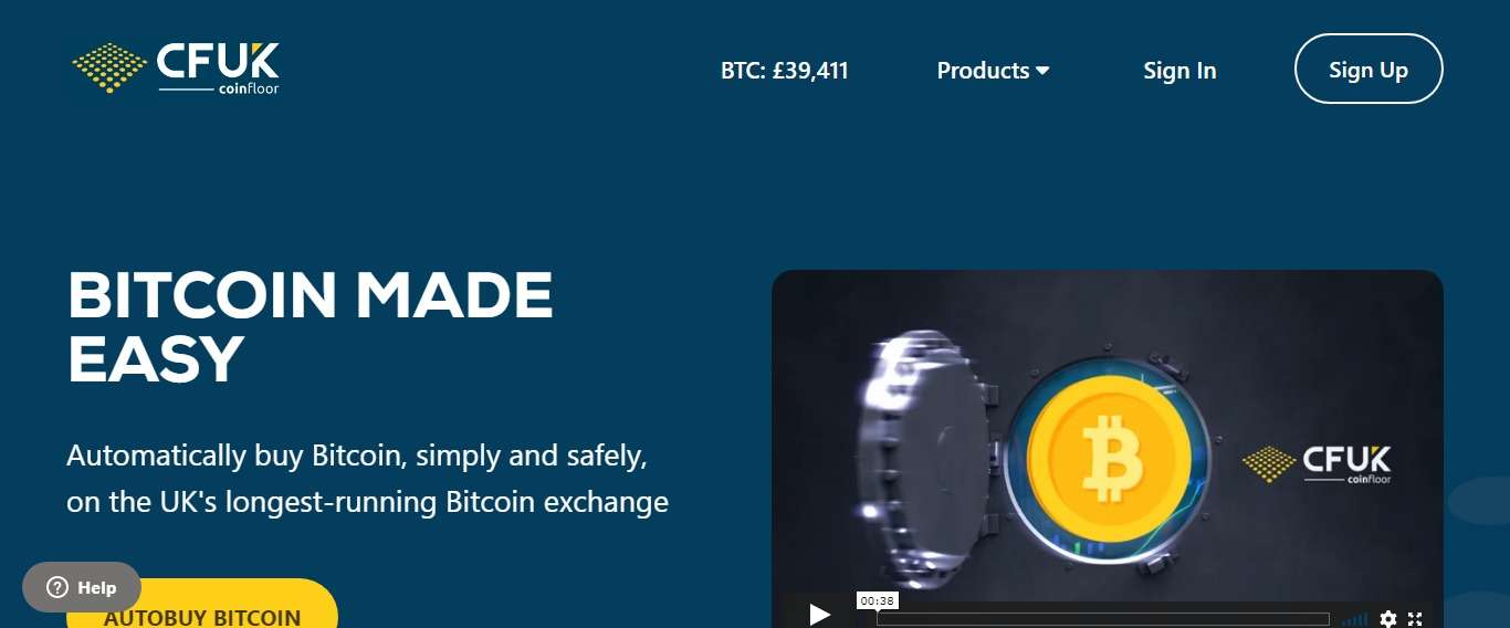 Coinfloor.co.uk Cryptocurrency Exchange Review: