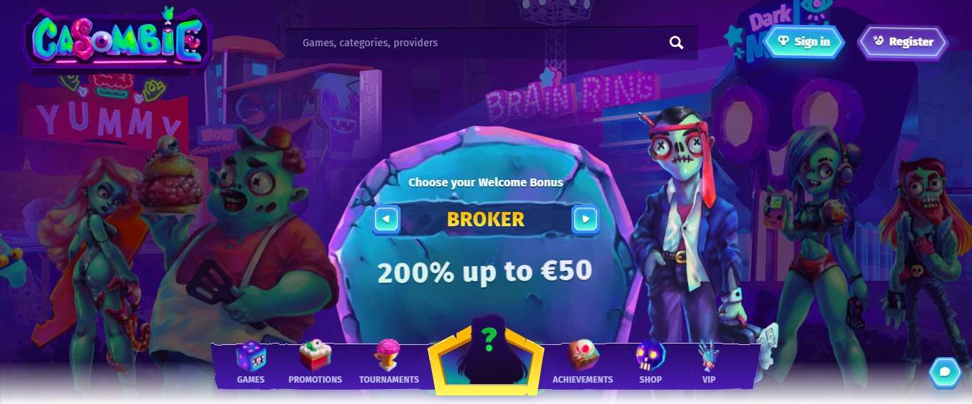 Casombie.com Casino Review