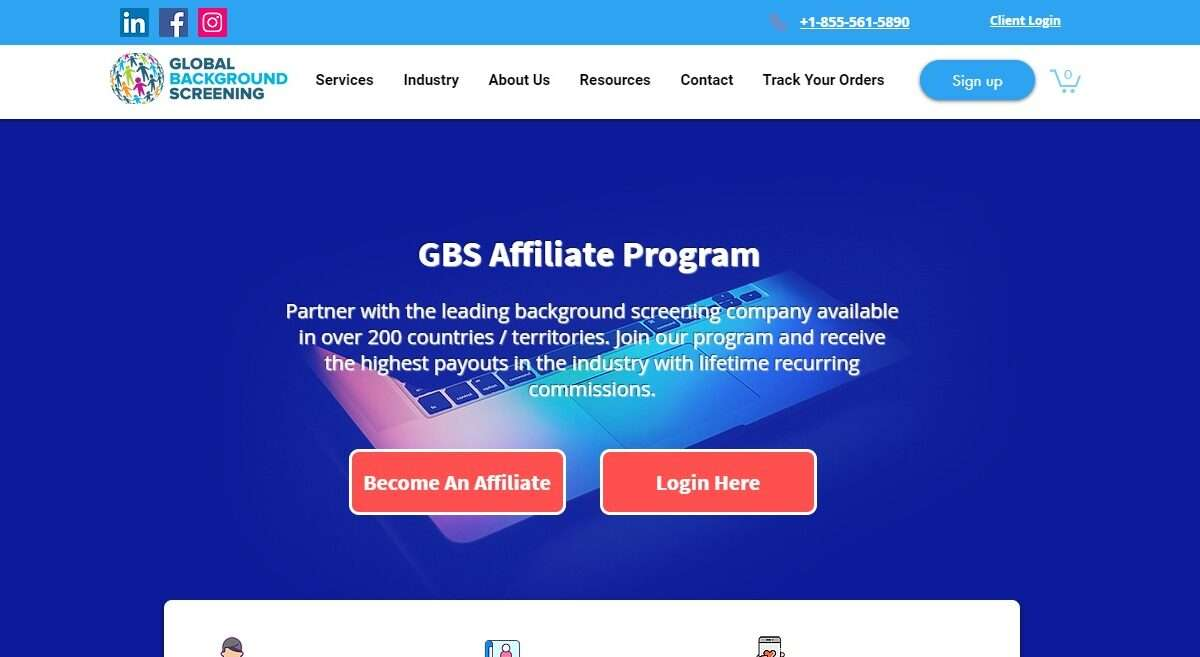 Globalbackgroundscreening.com Affiliate Network Review : Earn 15% - 18% Commission Per Sale