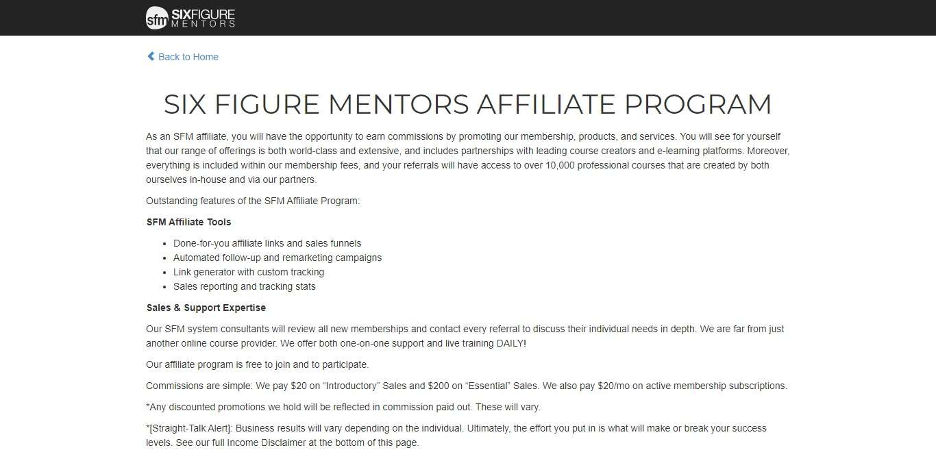 Thesixfigurementors.com Affiliate Network Review : A Resolution In Learning The Evolution Of You