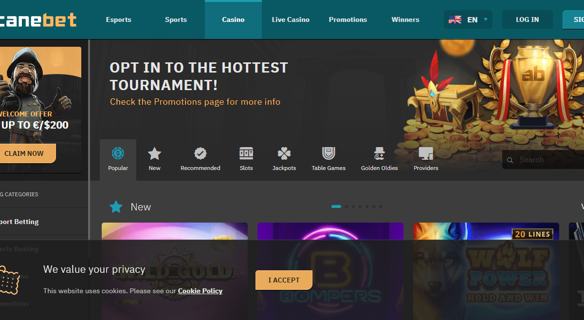 Arcanebet.com Casino Review : Option The Hottest Tournament
