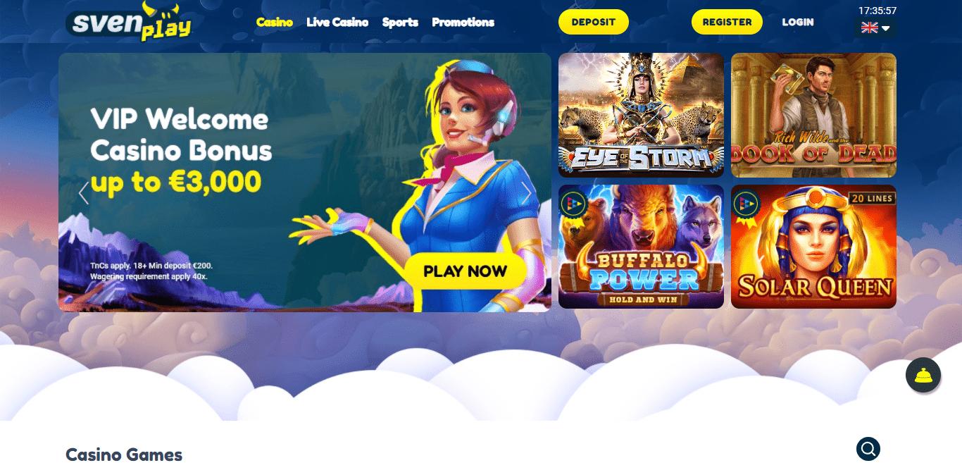 Welcome To Sven-play.com Casino Review