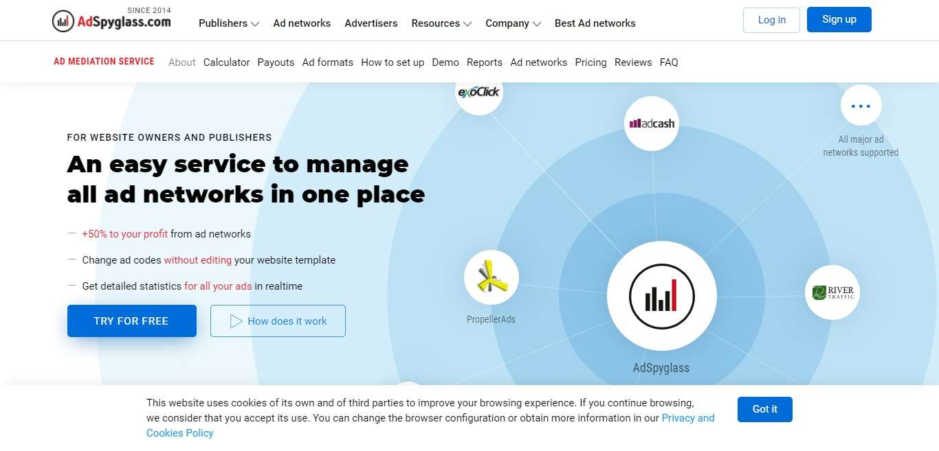 Adspyglass.com Review : An Easy Service to Manage All ad Networks in One Place