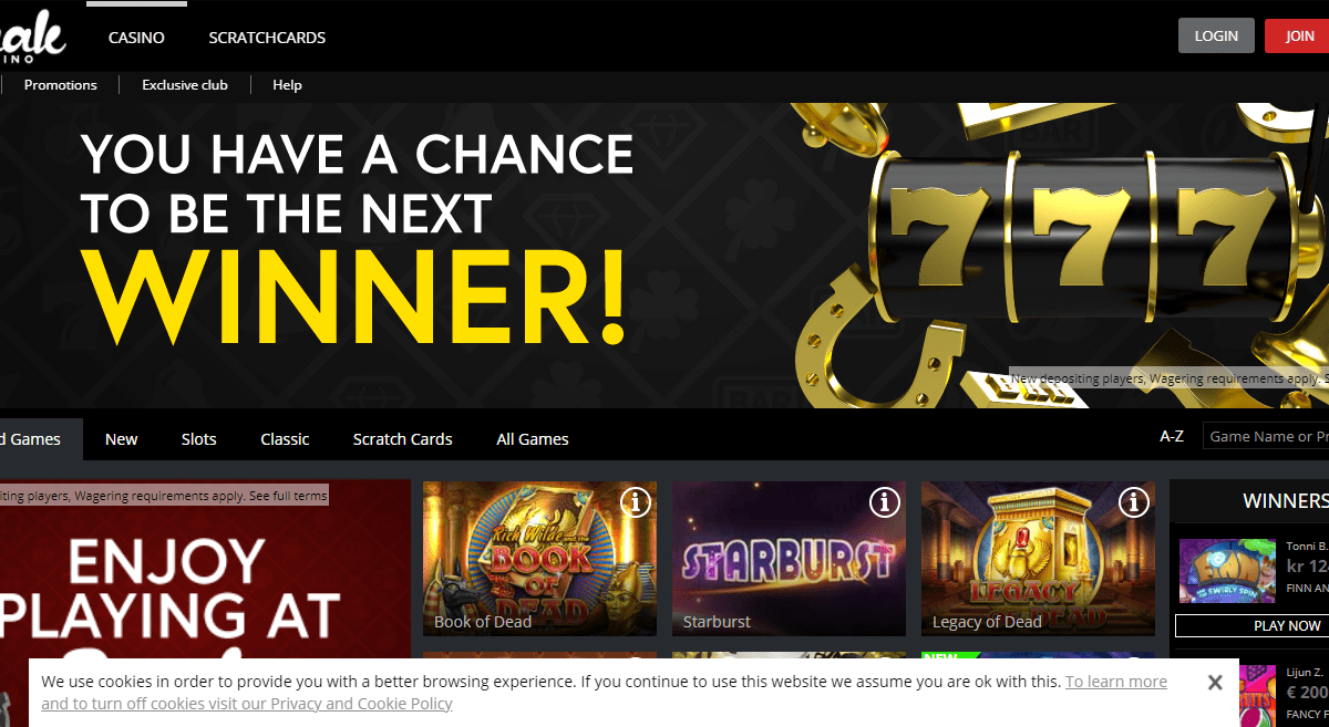 Jaakcasino.com Casino Review : Best Games Available Here