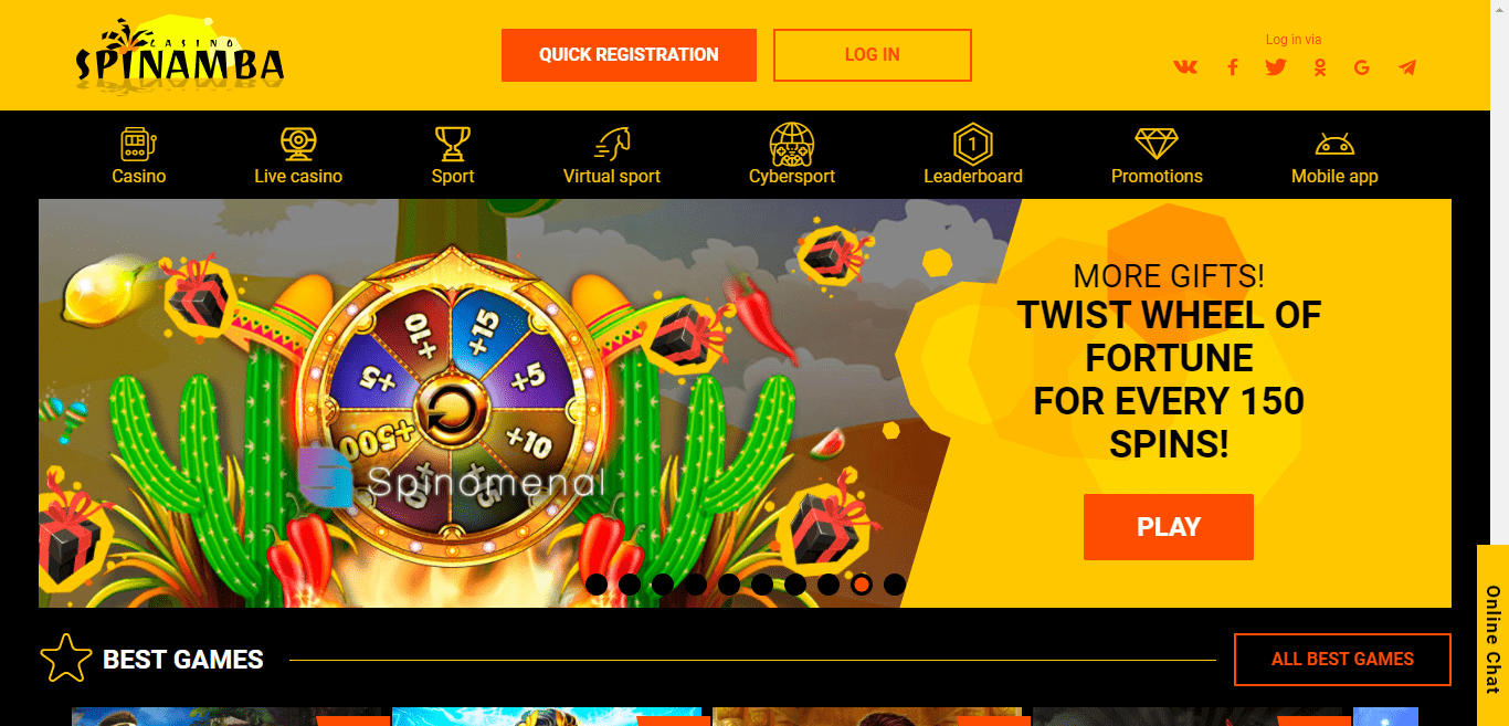 Spinamba8.com Casino Review : It Is Time To Win