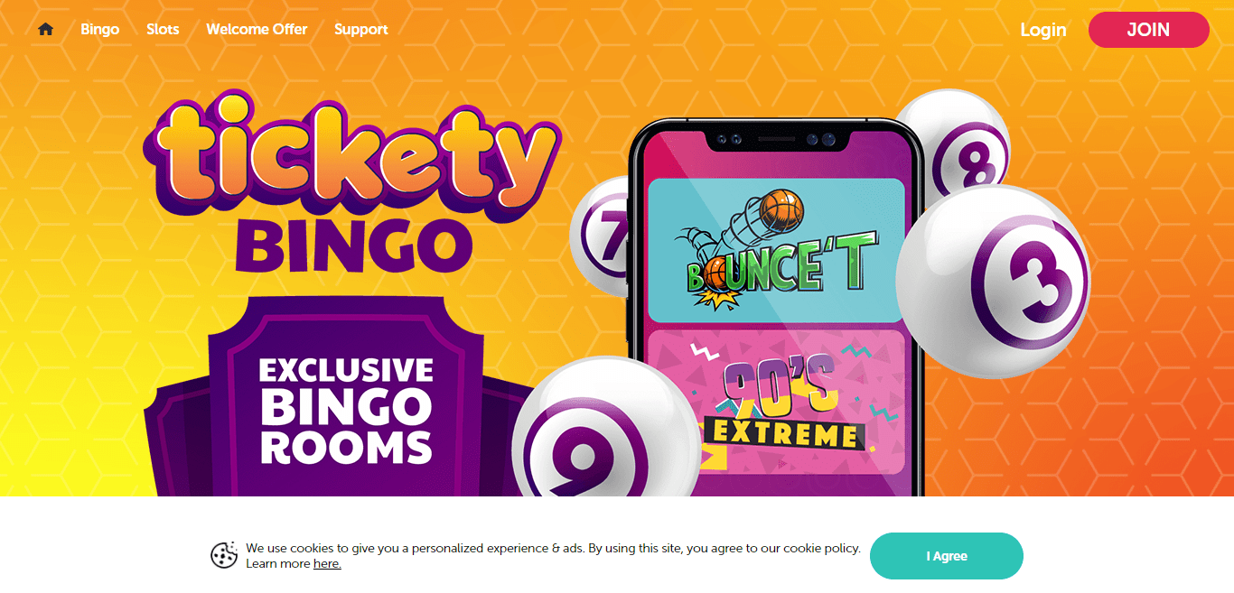 Welcome To Ticketybingo.com Casino Review