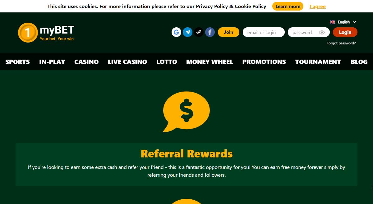 1mybet.com Casino Review : Your Bet Your Win