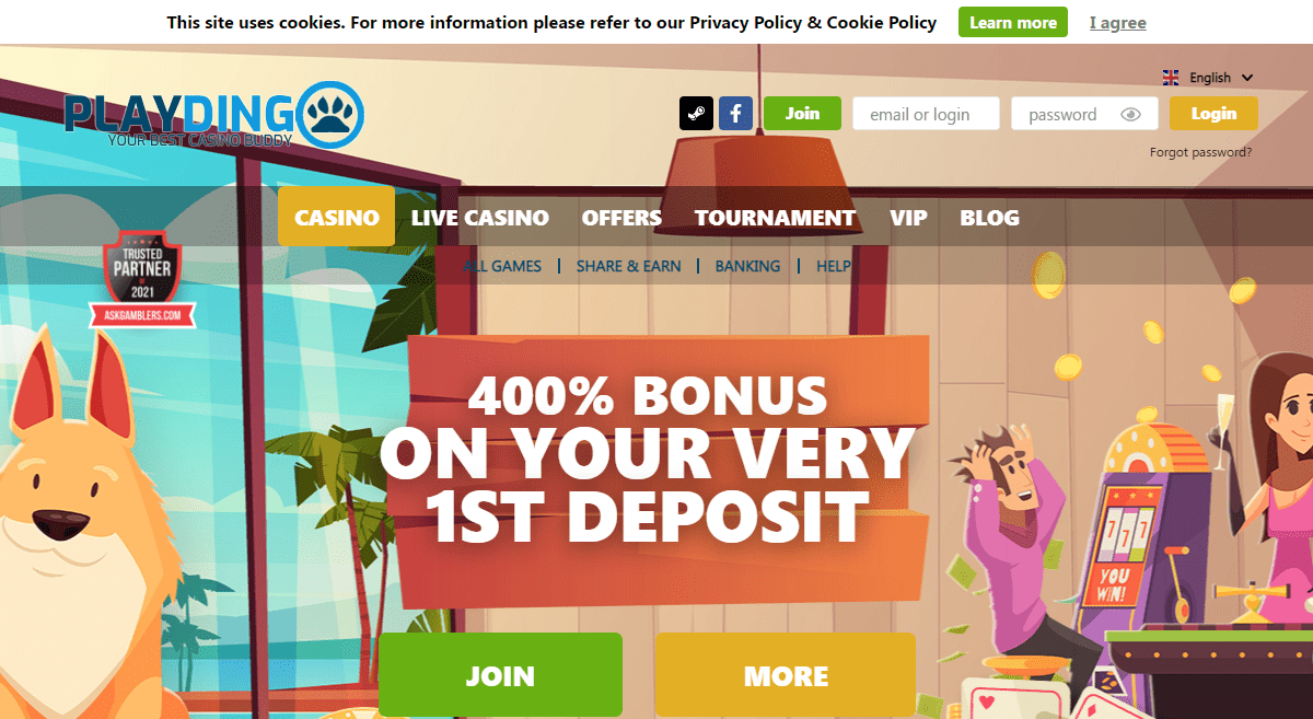 Playdingo.com Casino Review : Playdingo Casino is All About Exciting Original Online Casino Games