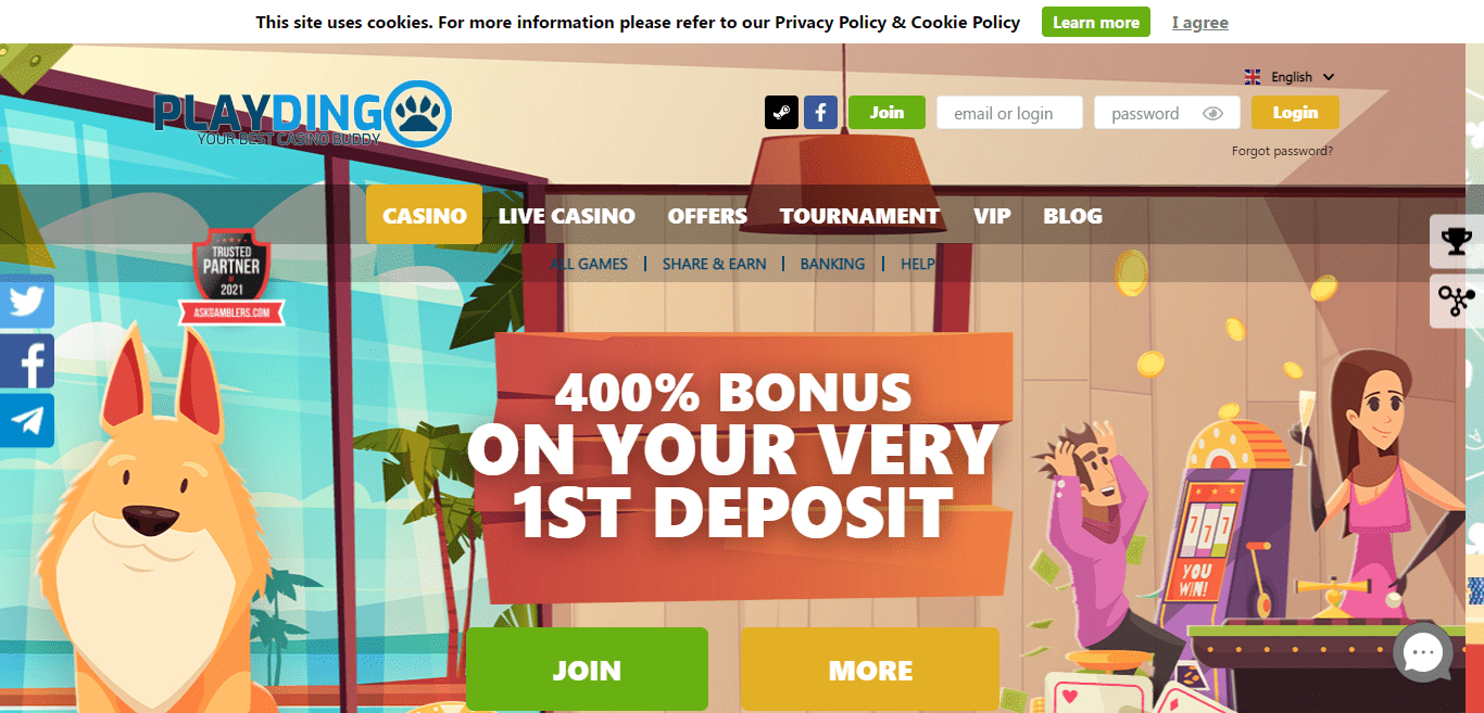 Playdingo.com Casino Review : Playdingo Casino is All About Exciting Original Online Casino Games