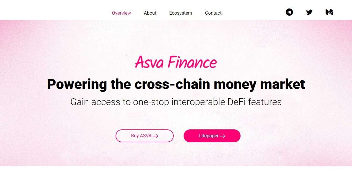 Asva.finance Airdrop Review: Powering the cross-chain money market