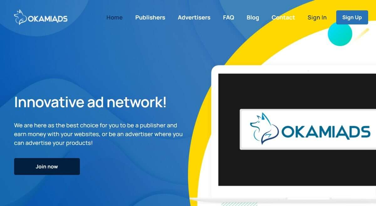 Okamiads.com Advertising Review : Innovative ad Network!
