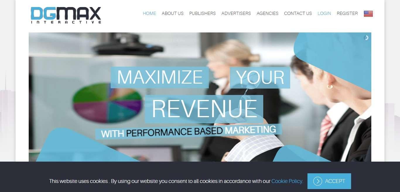 Dgmaxinteractive.com Advertising Review : Get Minimum Payment $50
