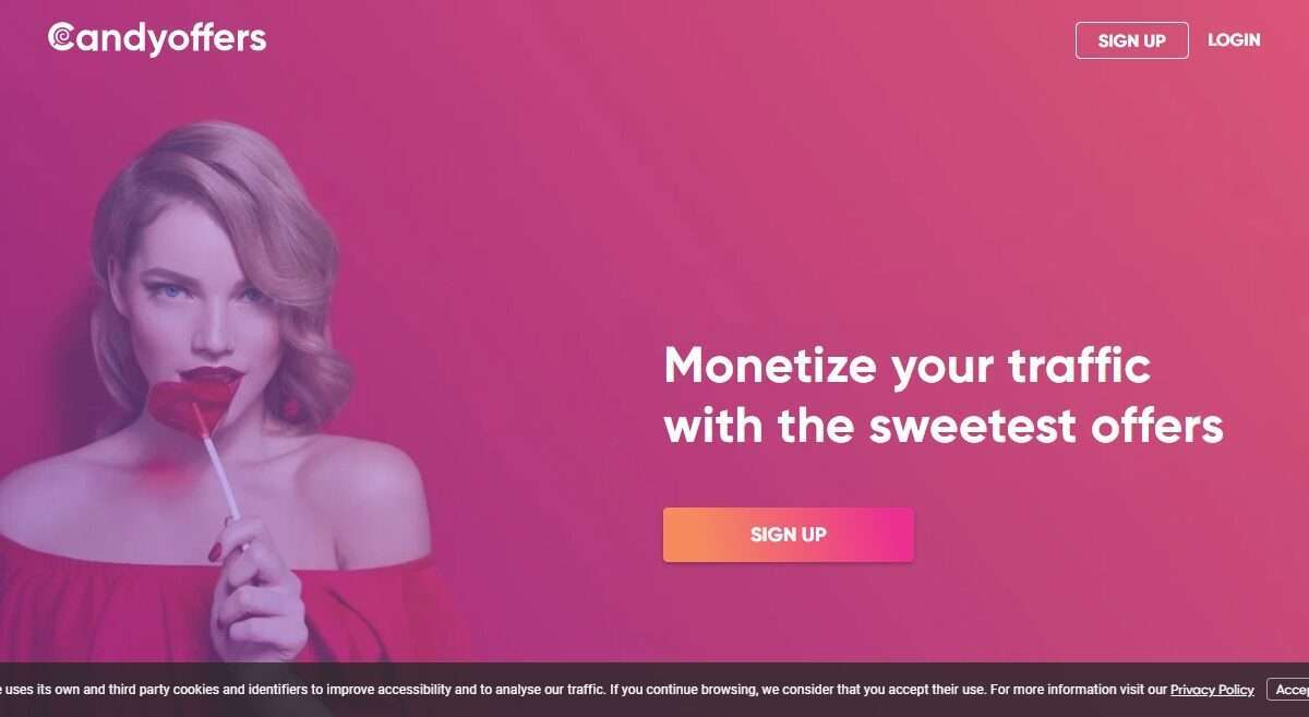 Candyoffers.com Advertising Review : Monetize your Traffic with the Sweetest Offers