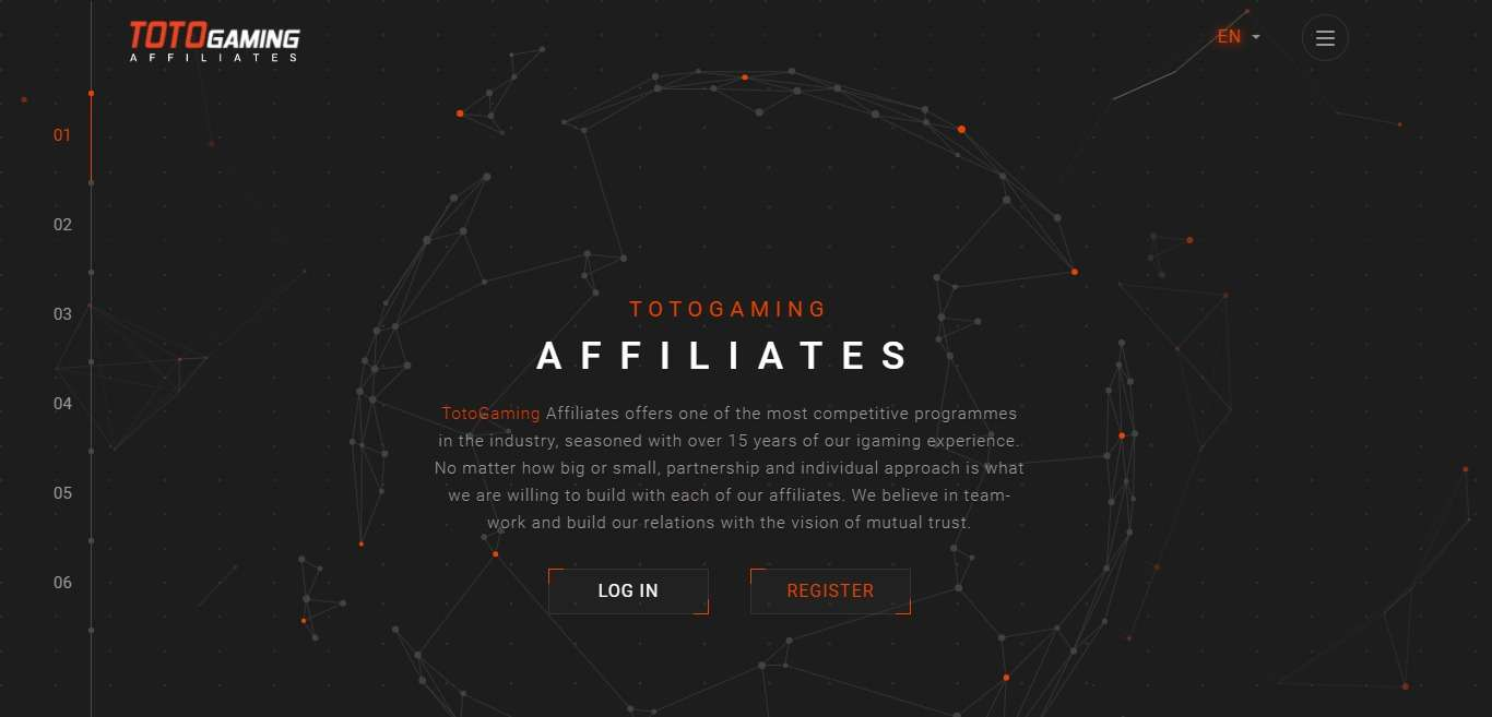 TotoGaming Advertising Review : Earn 20% - 35% Recurring Revenue Share
