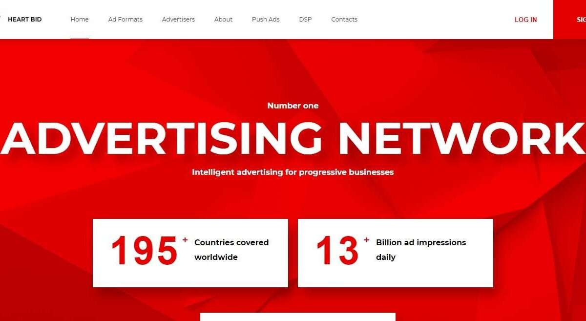 Heartbid.net Advertising Review : . Fast Start Full Control Easy Optimization