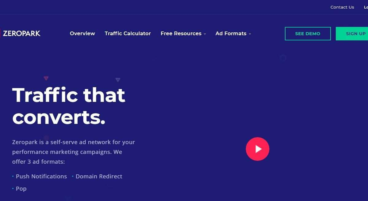 Zeropark Review : Multiple Creatives in Push Ads